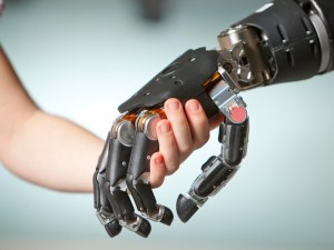 Robots won't replace us because we still need that human touch article image
