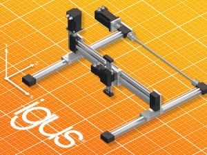 Compact and cost-effective: New drylin E linear robot from Treotham article image