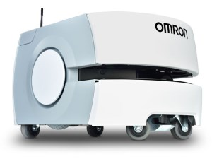 Omron launches new website to promote AI-equipped mobile robots article image