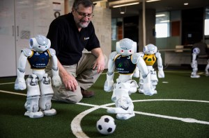 UNSW's robot soccer team face off at world championship in Sydney article image