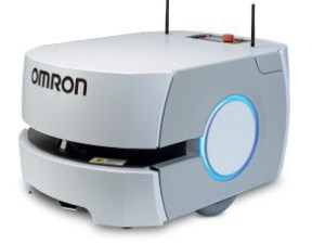 Omron mobile robots in airport baggage transportation trial article image