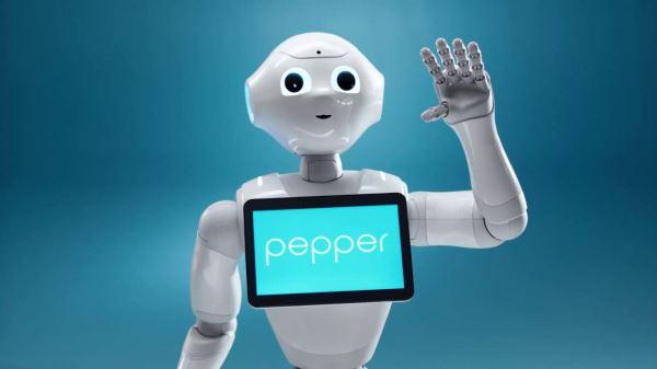 Pepper the Social Robot Visits Dean Social Club