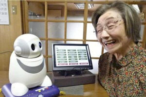 How robots are being taught to care for the elderly article image