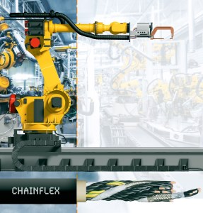 New igus e-chain cables keep Fanuc robots on the move article image