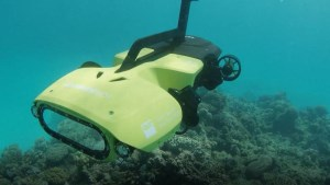 World first underwater drone set to give Barrier Reef an in-depth health check article image